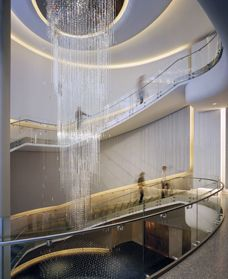 """Grand Atrium Lobby, """"Top of the Rock"""", Rockefeller Center, NYC © Paul Warchol"""