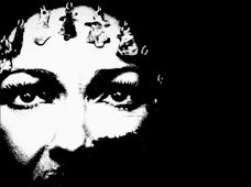 """Maria Callas – From the Infinity of the Cosmos"" graphic art by Michael Hammers"